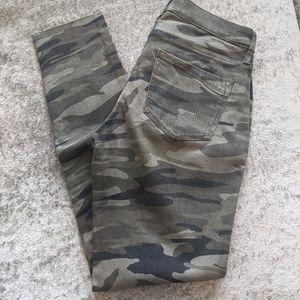 NWOT Express camo jean leggings 2
